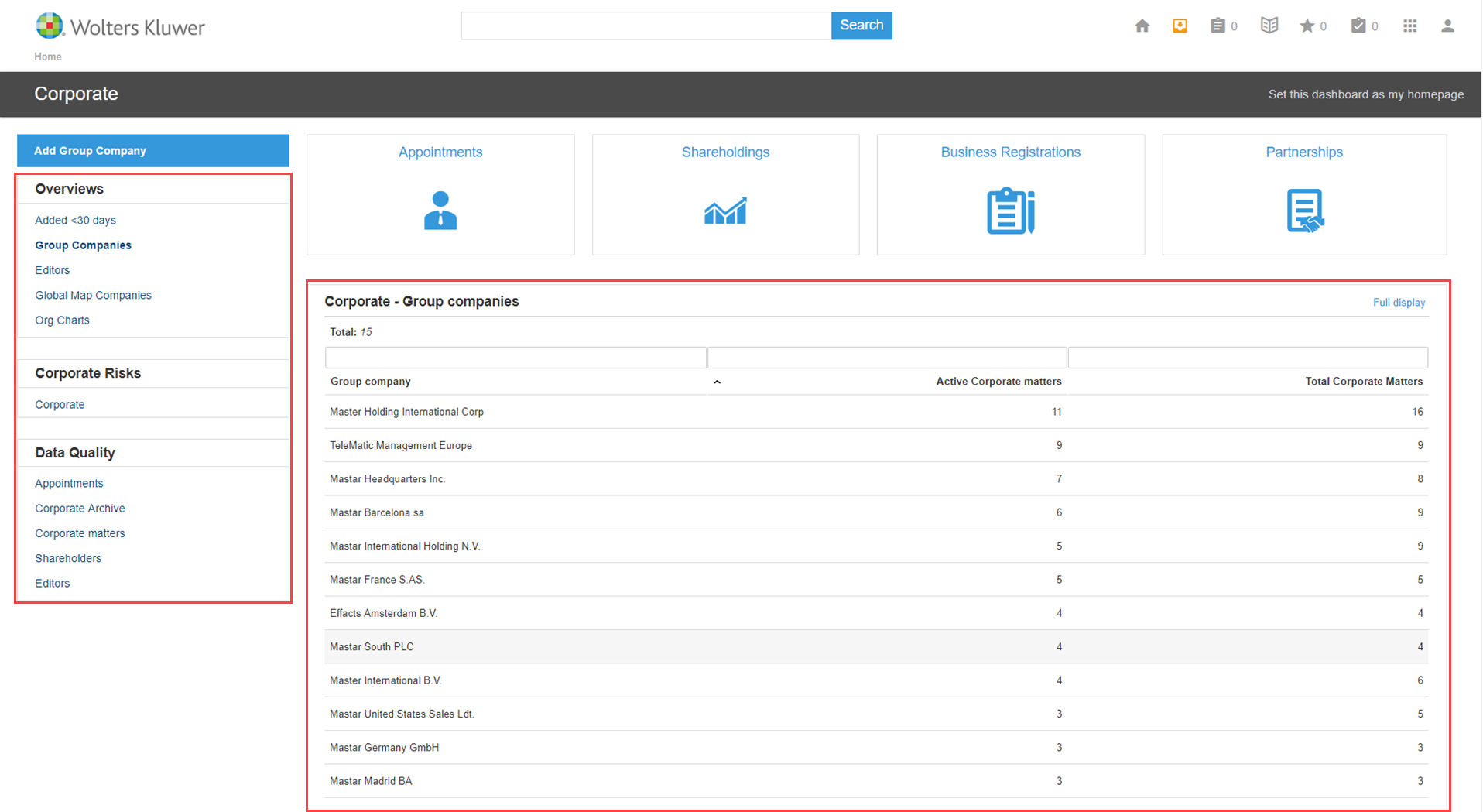 Reports on dashboards - Shot 4